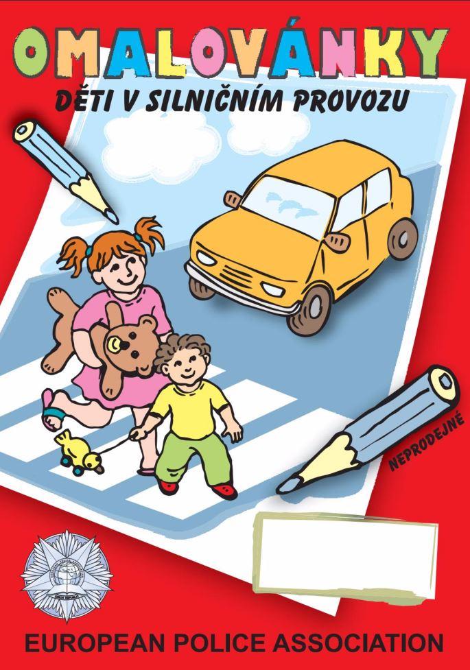 Bezpečně na silnici omalovánky, IV-Nakladatelství, s.r.o