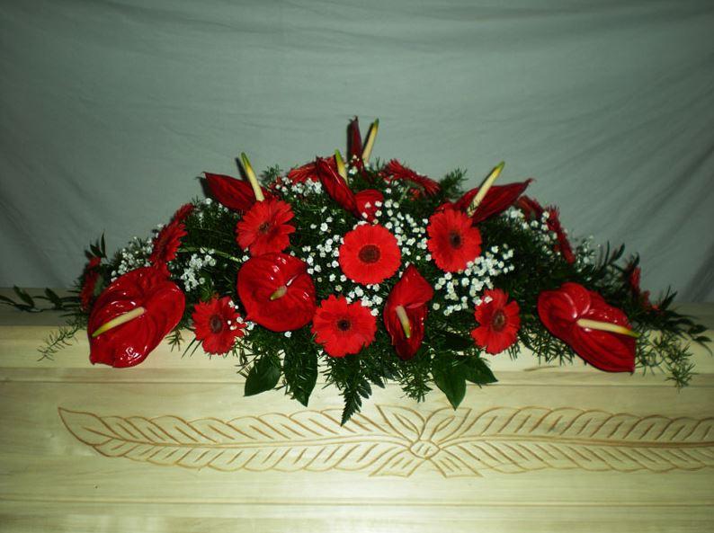 Pohřební služba Opava, květinová výzdoba, MARIE - pohřební služba Opava s.r.o.
