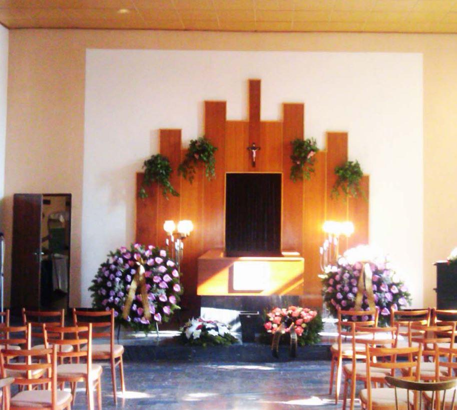 Obřadní síň, MARIE - pohřební služba Opava s.r.o.