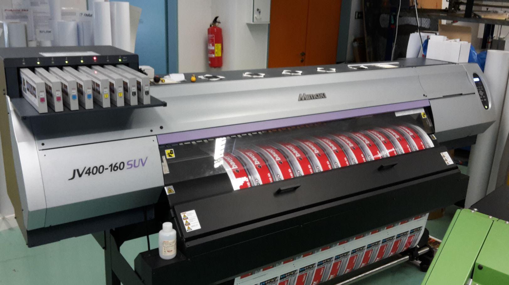 Velkoformátová LED UV inkoustová tiskárna, V PRINT, s.r.o.