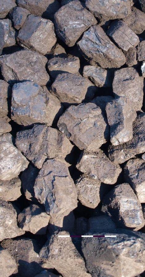 Uhlí, Uhelné sklady