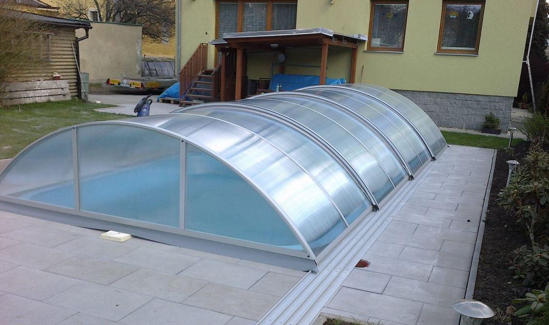 Zastřešení bazénu, H&P Polykarbonáty s.r.o