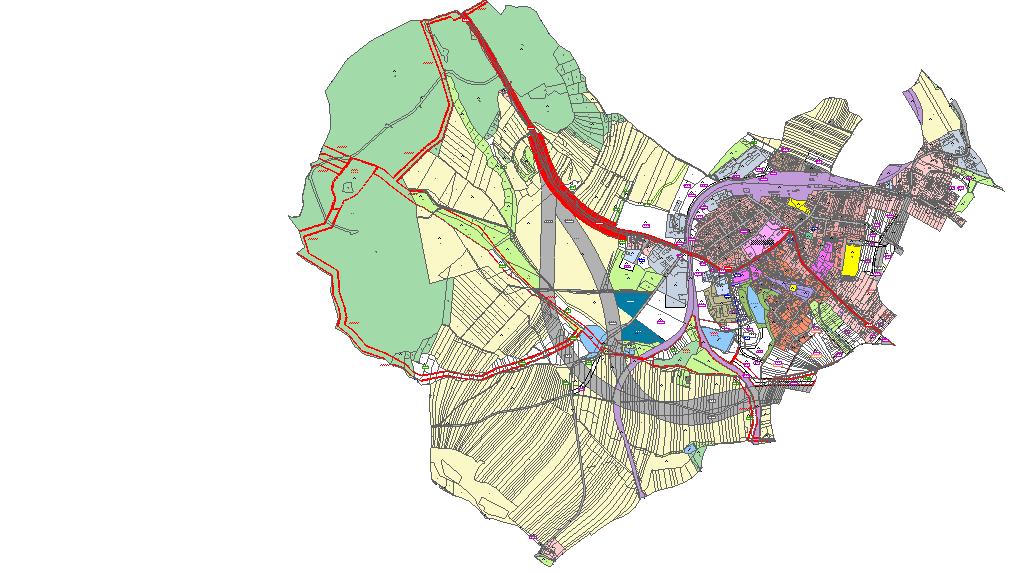 Územní plán Okríšky, DIS projekt, s.r.o.