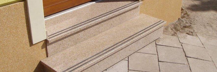 Schody, z přírodního kamene, Kamenosochařství Benešovský Antonín