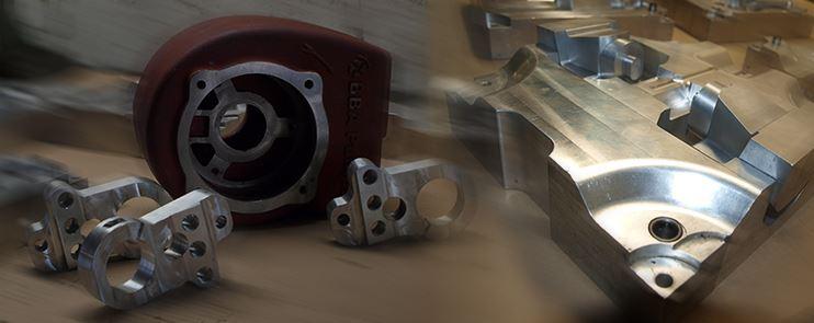 CNC obrábění, kovové formy, odlitky z oceli a šedé litiny, Brno
