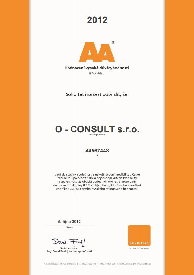 Auditorská činnost Liberec, O-CONSULT, s.r.o.