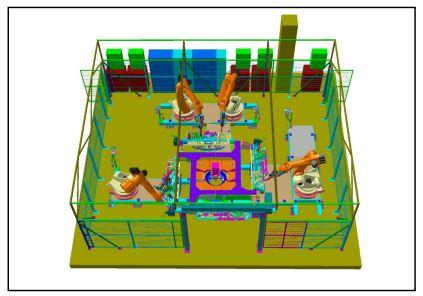 Robotizovaná pracoviště - projekty, KOPR spol. s r.o.