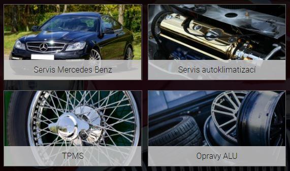 Oprava a úpravy vozů Mercedes-Benz Znojmo