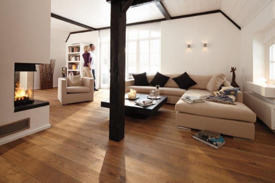 Dřevěné dubové podlahy