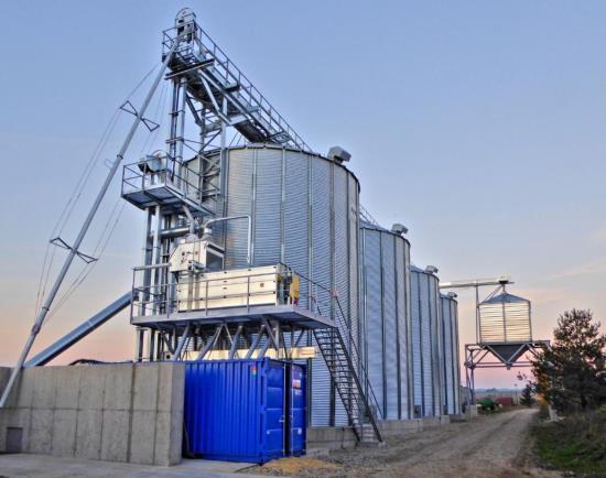 Profesionální technologie pro zpracování obilovin a výrobu krmných směsí