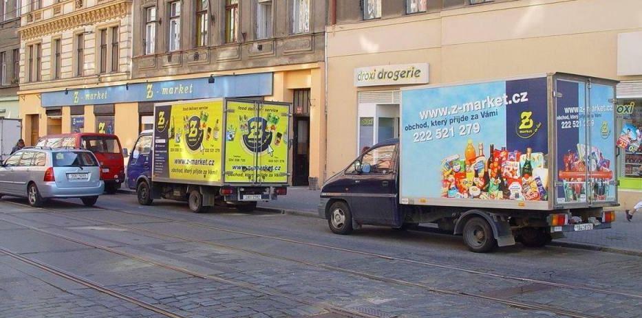 Internetový prodej potravin a dalšího zboží