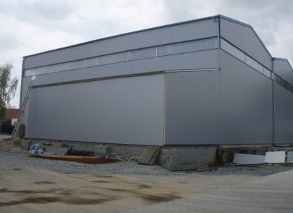 Výstavba průmyslových objektů, ST- MONT