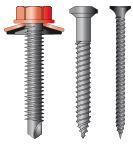 Spojovací materiál – šrouby do plechu, dřeva, betonu