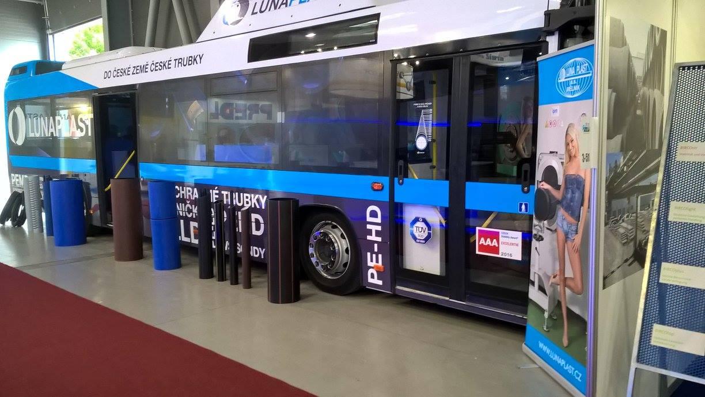 Výstavní autobus LUNA PLAST a.s.