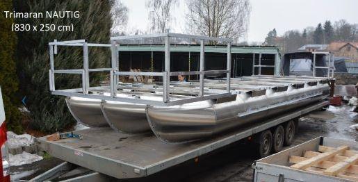 Nautig Traapper 35, zakázková výroba pontonů, NAUTIG SE