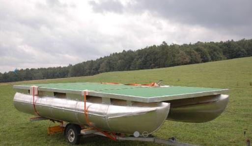 Nautig Traapper 19, zakázková výroba pontonů, NAUTIG SE