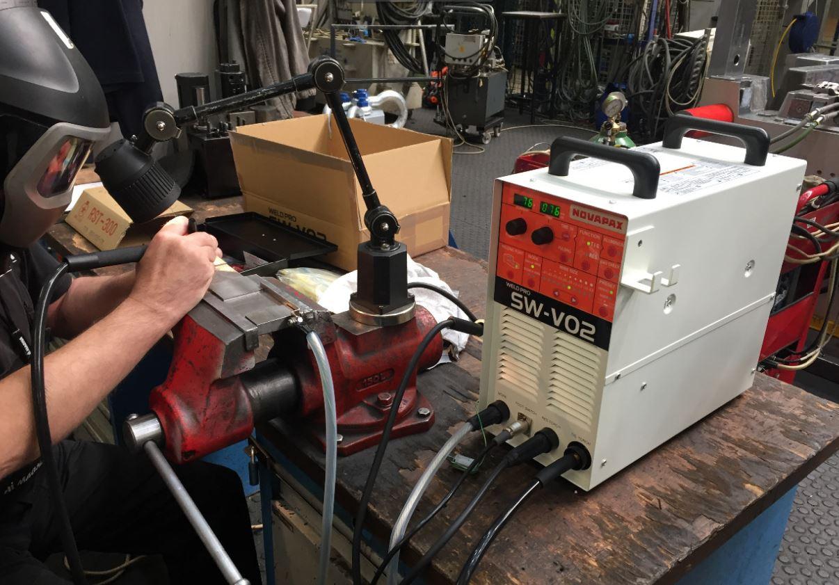 Navařování - moderní stroje a zařízení, NOVAPAX CZ s.r.o.
