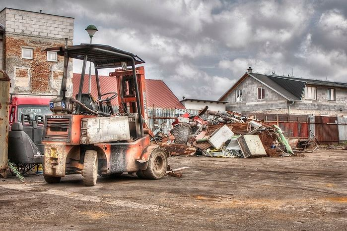 Zpracování železného odpadu, MR STEEL GROUP s.r.o. Krnov