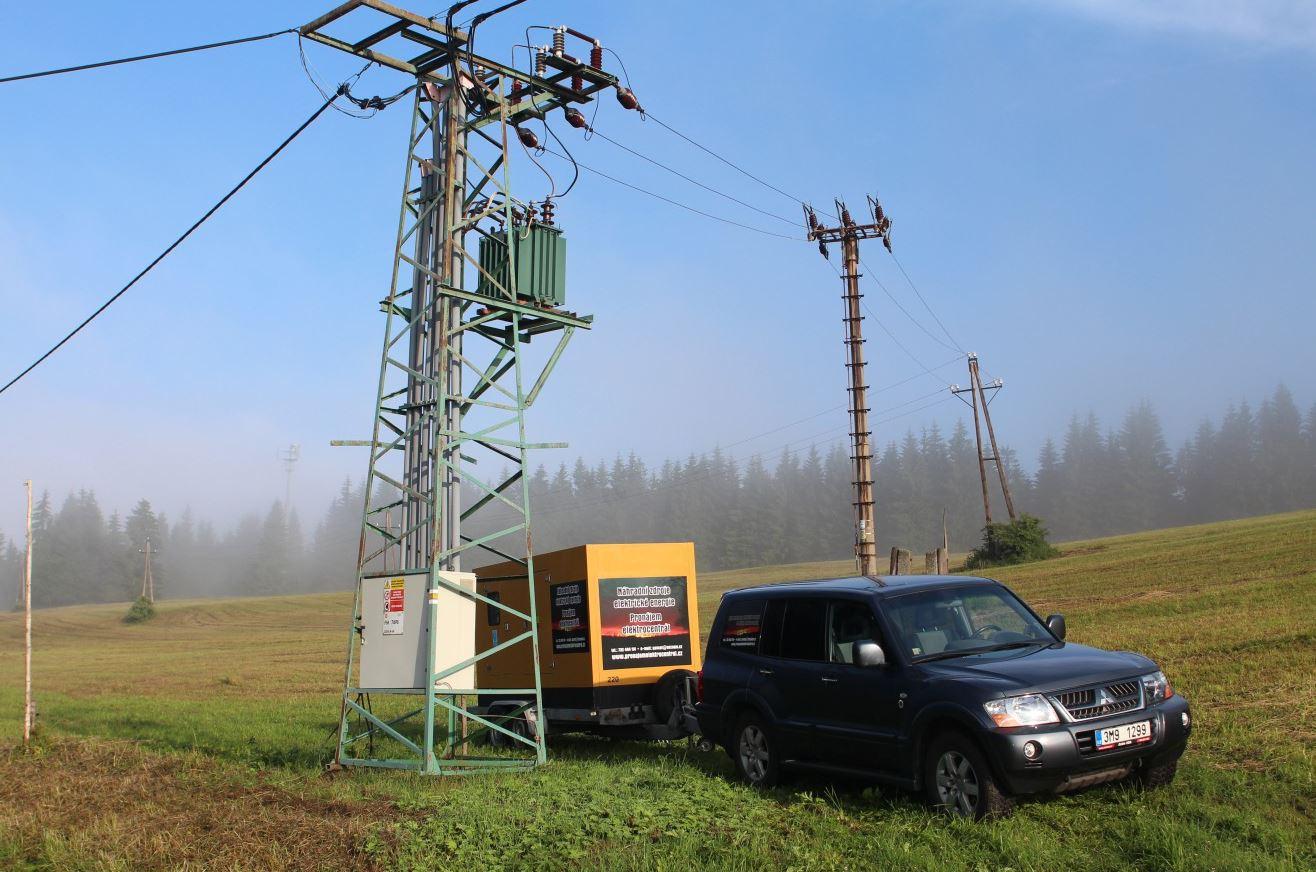 Půjčovna elektrocentrál, PRONÁJEM ELEKTROCENTRÁL - Šafařík s.r.o.