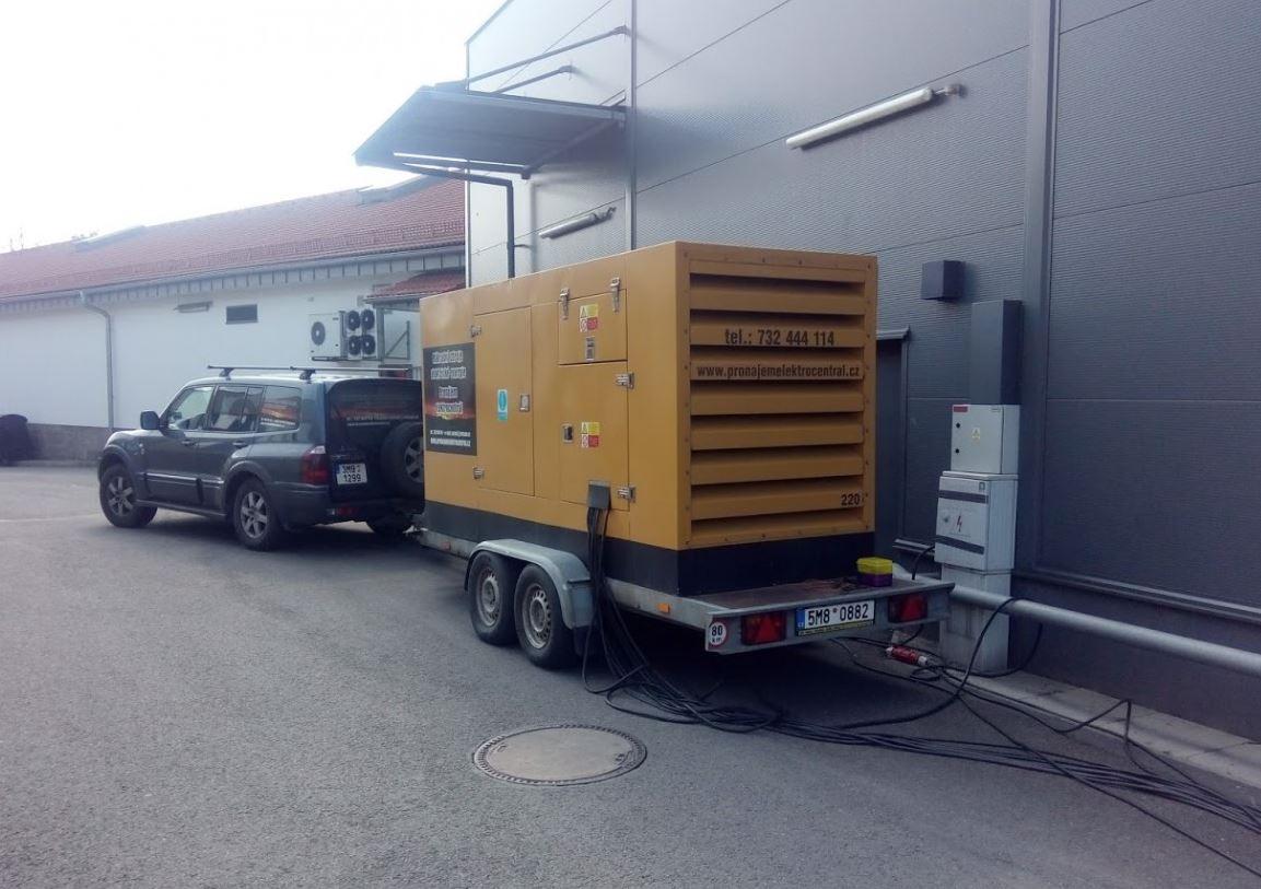 Pronájem elektrocentrál, PRONÁJEM ELEKTROCENTRÁL - Šafařík s.r.o.