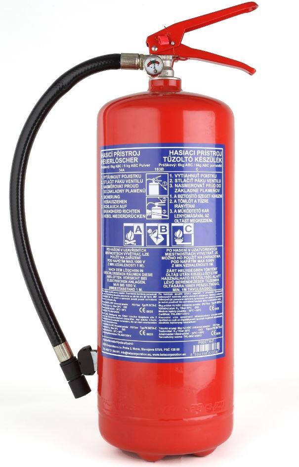 Práškový hasicí přístroj, HASTEKO s.r.o.