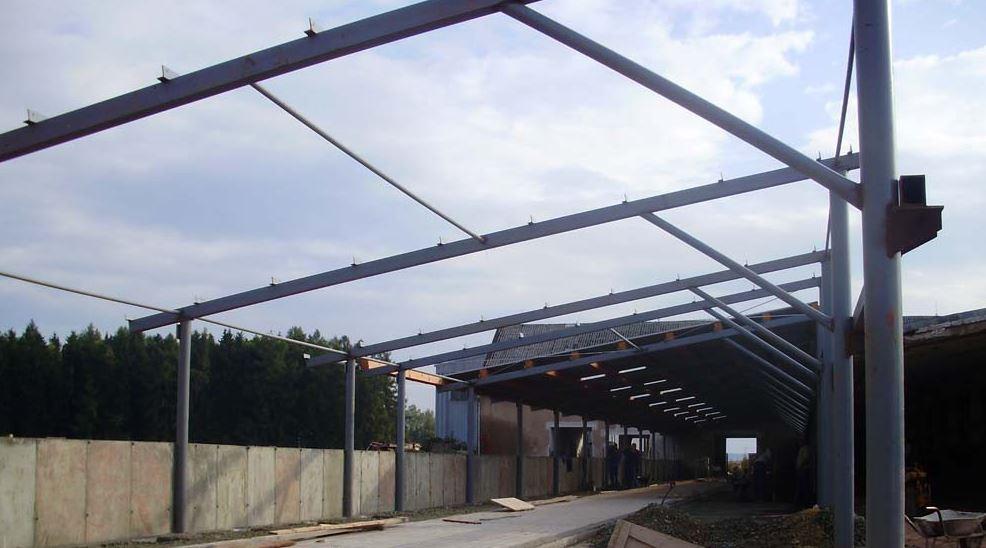 Ocelové konstrukce pro budovy, haly a firemní objekty