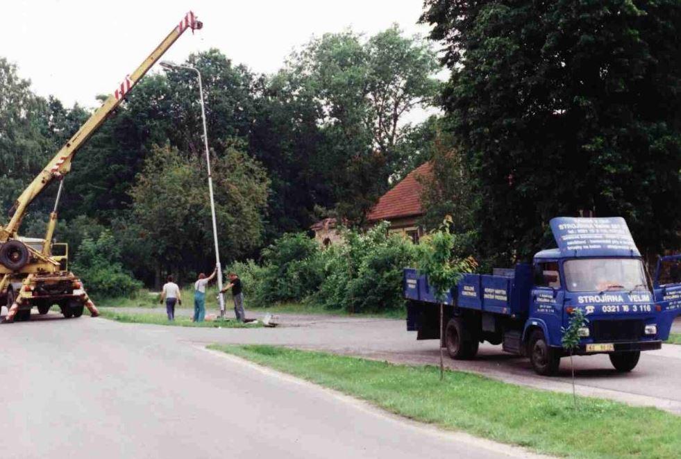 Typizované stožáry a výložníky - veřejné osvětlení