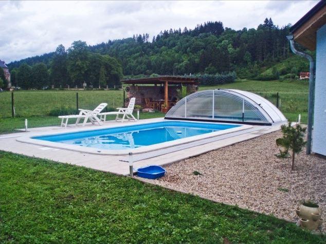 Výroba bazénu s kompletním příslušenstvím