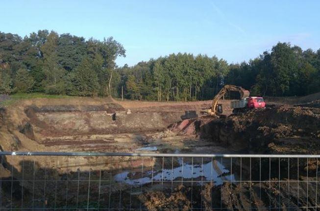 Úpravy terénu, výkopové práce a zemní práce
