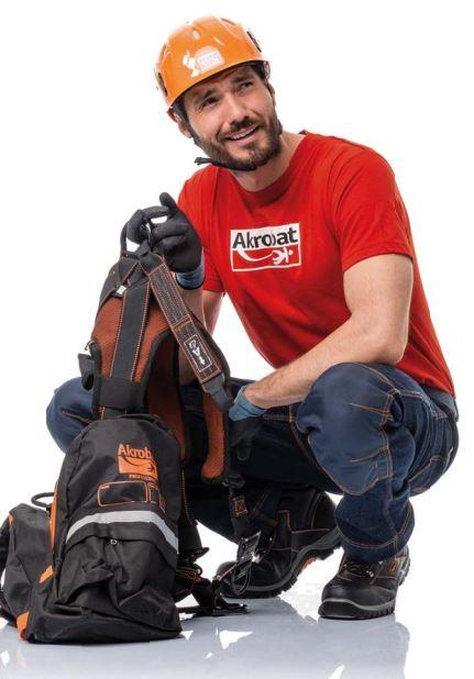Ochranné pomůcky pro práci ve výškách, ochranu hlavy
