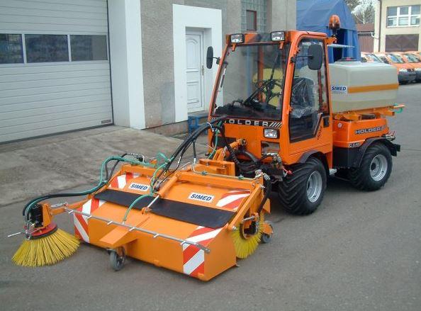 Komunální technika, silniční zametač typ MZS-K, SIMED s.r.o.