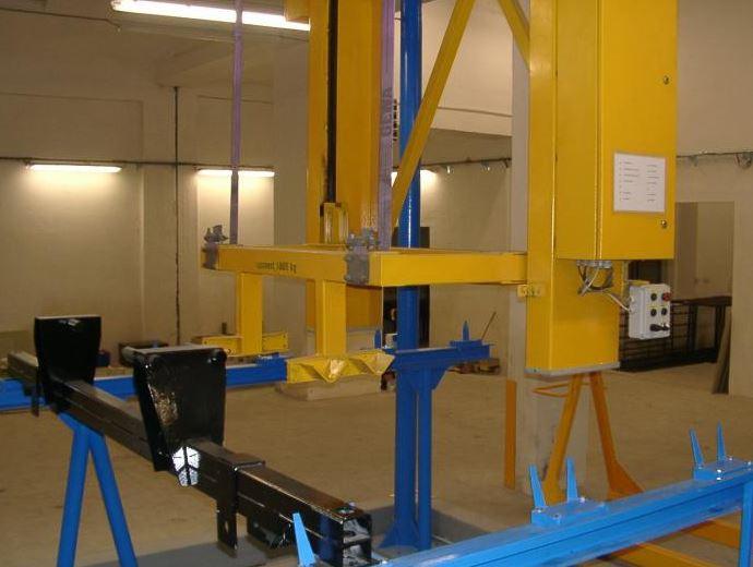 Výroba linek pro možnost galvanizace, W.P.E. a.s.