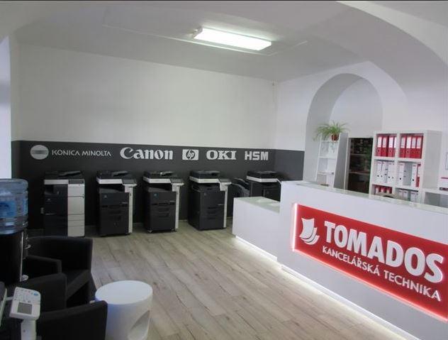 Tomados - tisk a vázání bakalářské práce