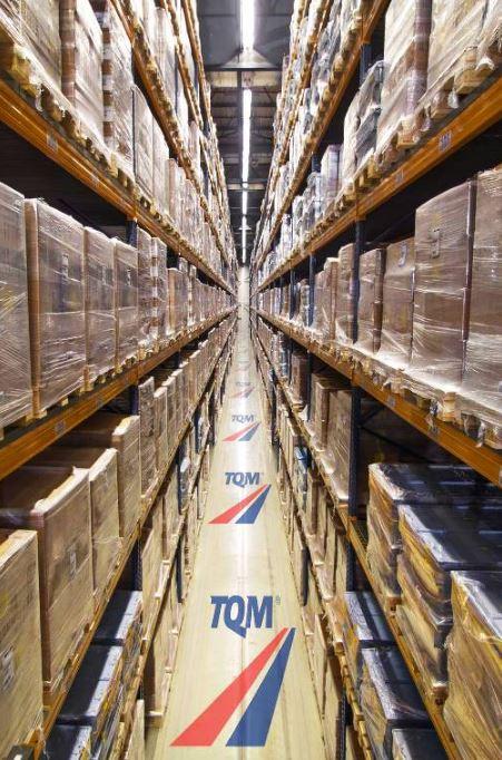 Moderní logistické sklady