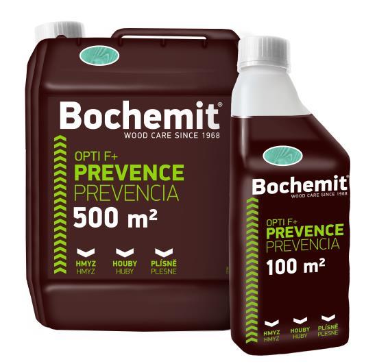 Přípravky značky BOCHEMIT ochrání dřevo proti dřevokazným houbám, hmyzu a plísním