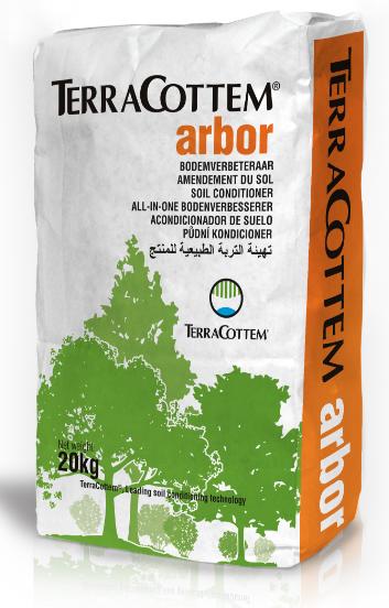 TerraCottem Arbor – Kvalitní podpora pro výsadbu