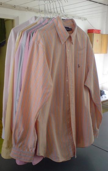 Ruční žehlení a praní košil