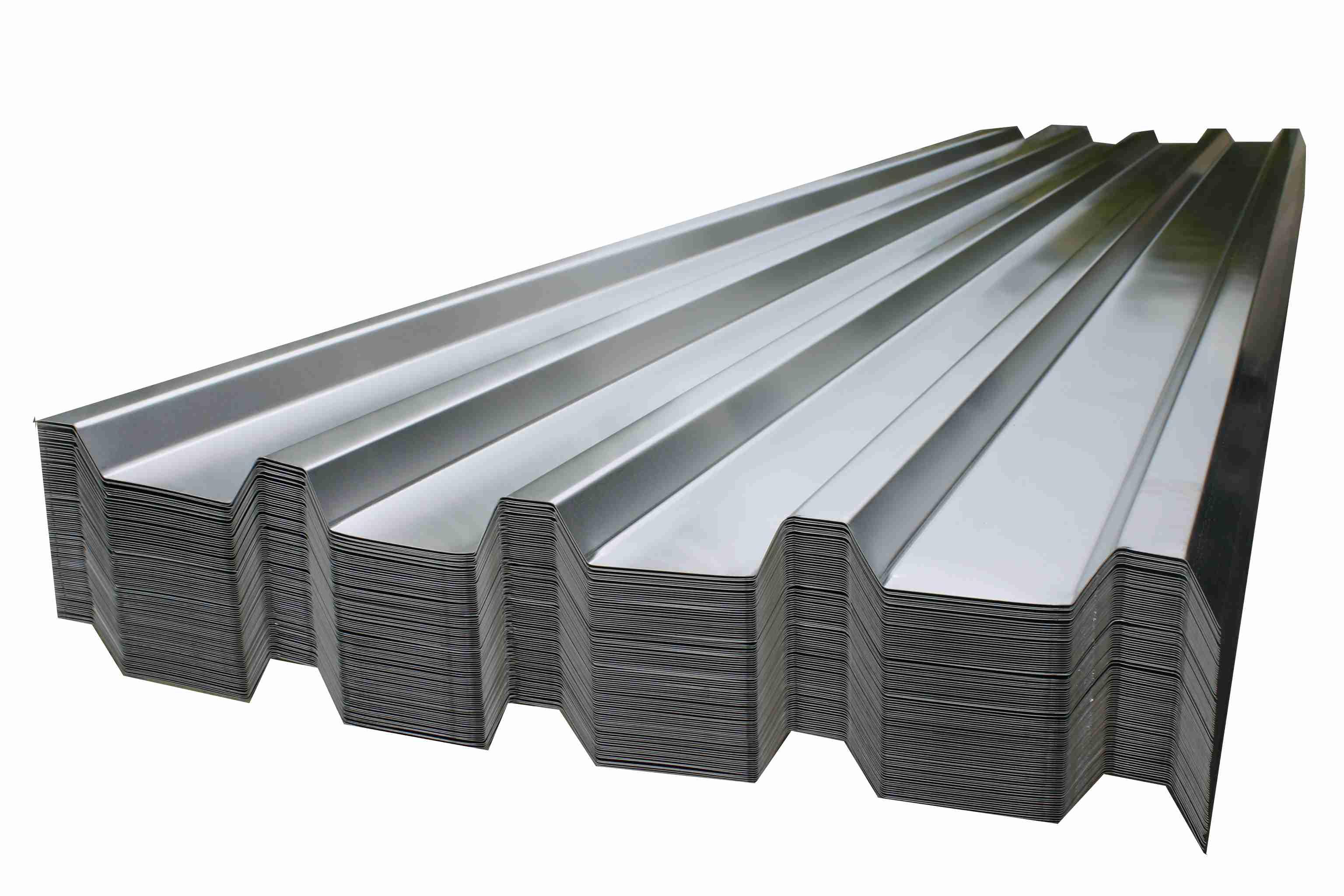 Trapézové plechy - hliníkové krytiny na strechy