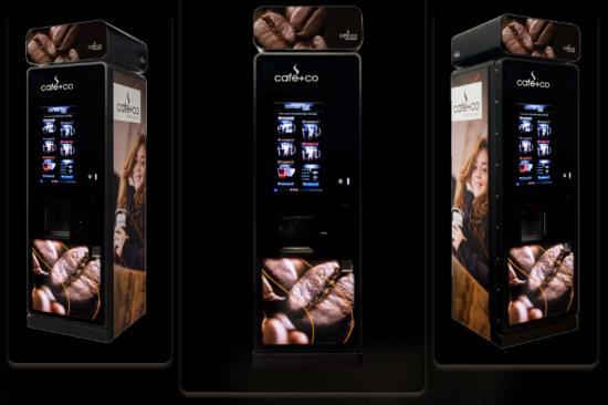 Nápojové automaty společnosti DELIKOMAT vyhoví každému Vašemu přání