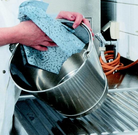 Vlhčené čistící utěrky Polytex® wiper bowl od ZVG