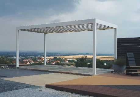 Samonosná bioklimatická pergola ARTOSI – dokonalý design pro Vaši pohodu
