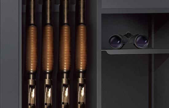 Špičkový trezor na zbraně ochrání vaše zbraně i cennosti
