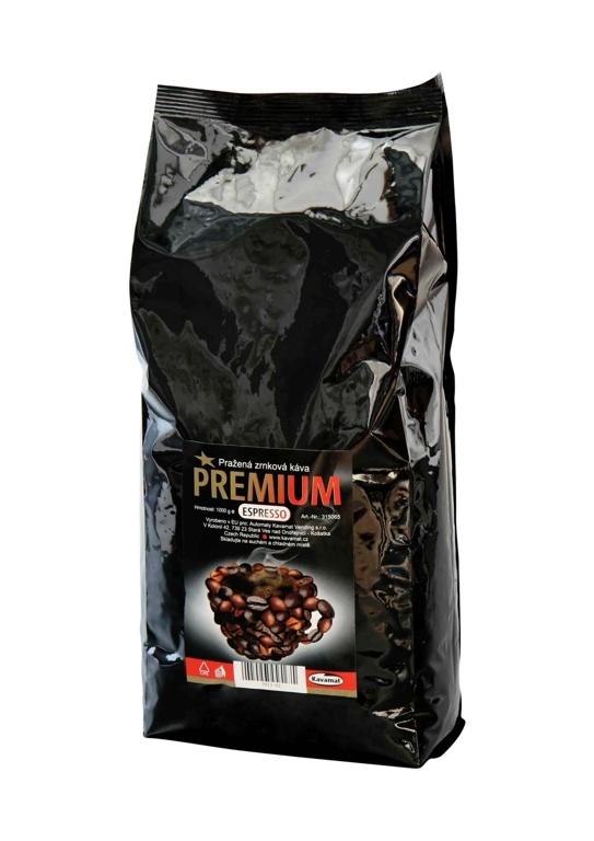 Vlastní zrnková káva od firmy Kavamat