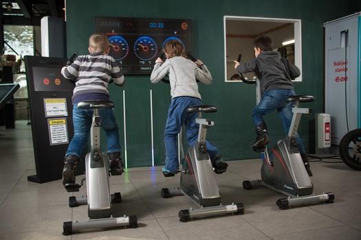 Výroba energie formou zkušenosti pro děti - Alternátor Třebíč