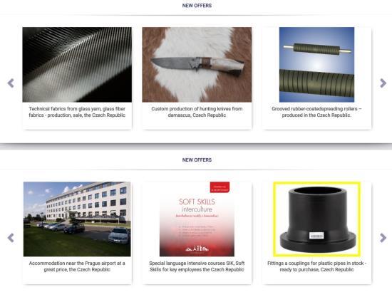 Company presentation in catalog EDB