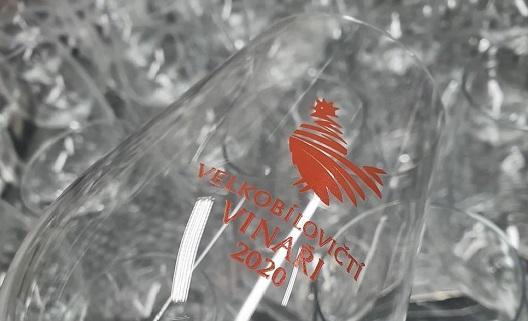 Reklamní potisky na skleničky