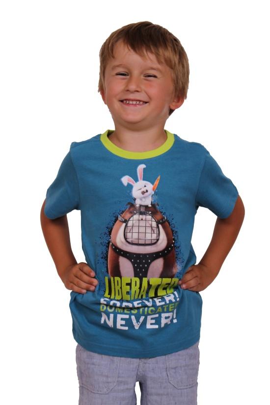 trička s hrdiny z pohádek