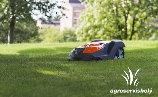 Robotické sekačky Automower si poradí s každým terénem