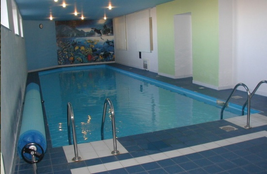 Lázeňské centrum s bazénem, saunou a vířivkou v hotelu v Říčanech