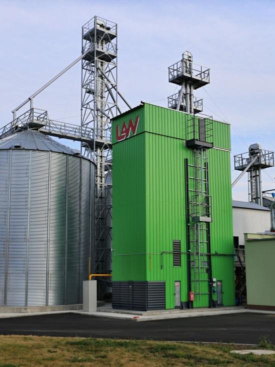 Sušení obilí moderně a v souladu s životním prostředím